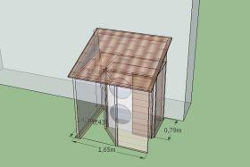 mod les abri anti bruit de pompe chaleur pac silence. Black Bedroom Furniture Sets. Home Design Ideas