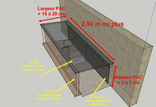 mur antibruit le plus efficace elegant le premier tronon du mur antibruit ralis en photo tc. Black Bedroom Furniture Sets. Home Design Ideas